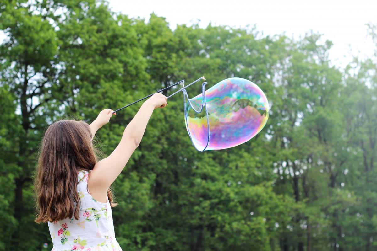 Как сделать устойчивые пузырь