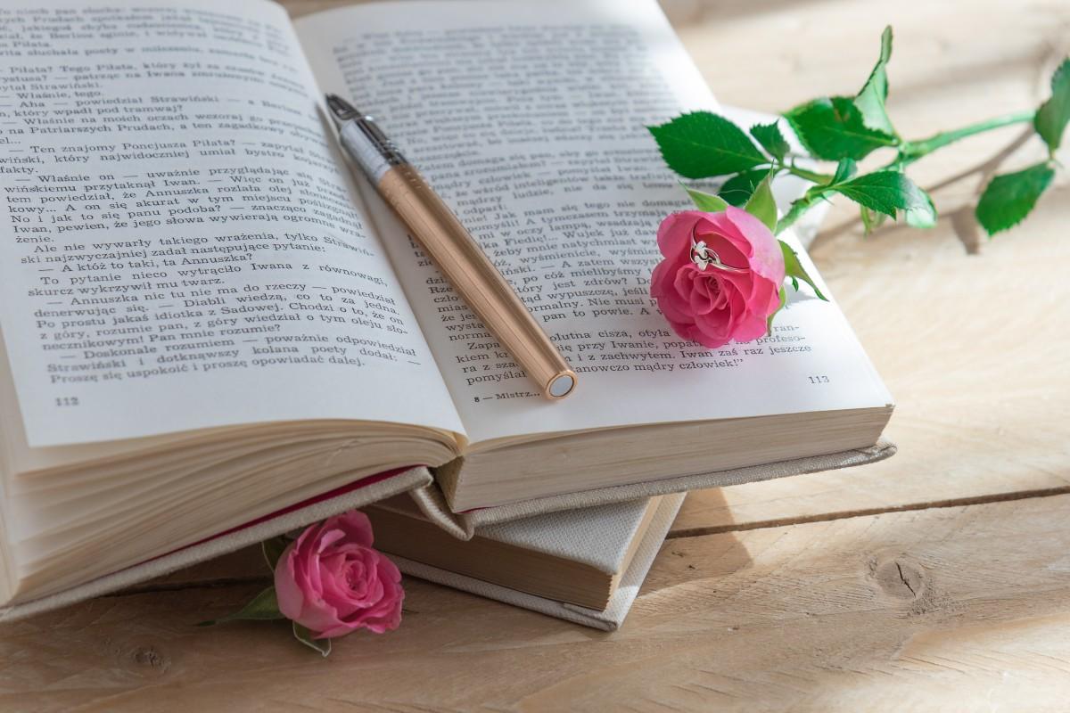 Free Images : Writing, Book, Novel, Reading, Rose
