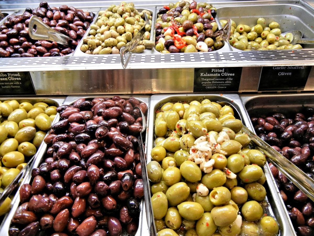 рекомендуем какие маслины попробовать в испании