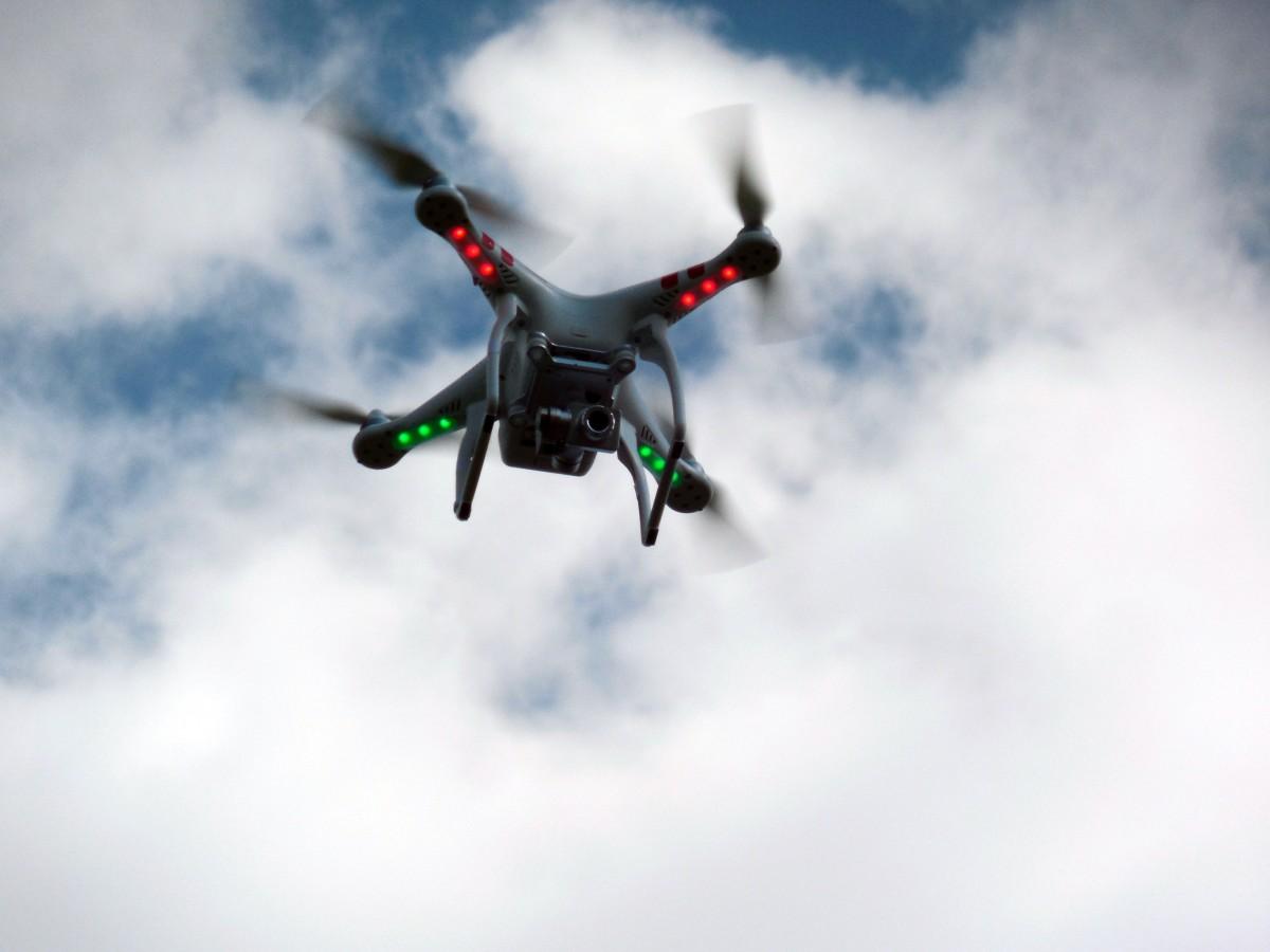 drone pour gopro