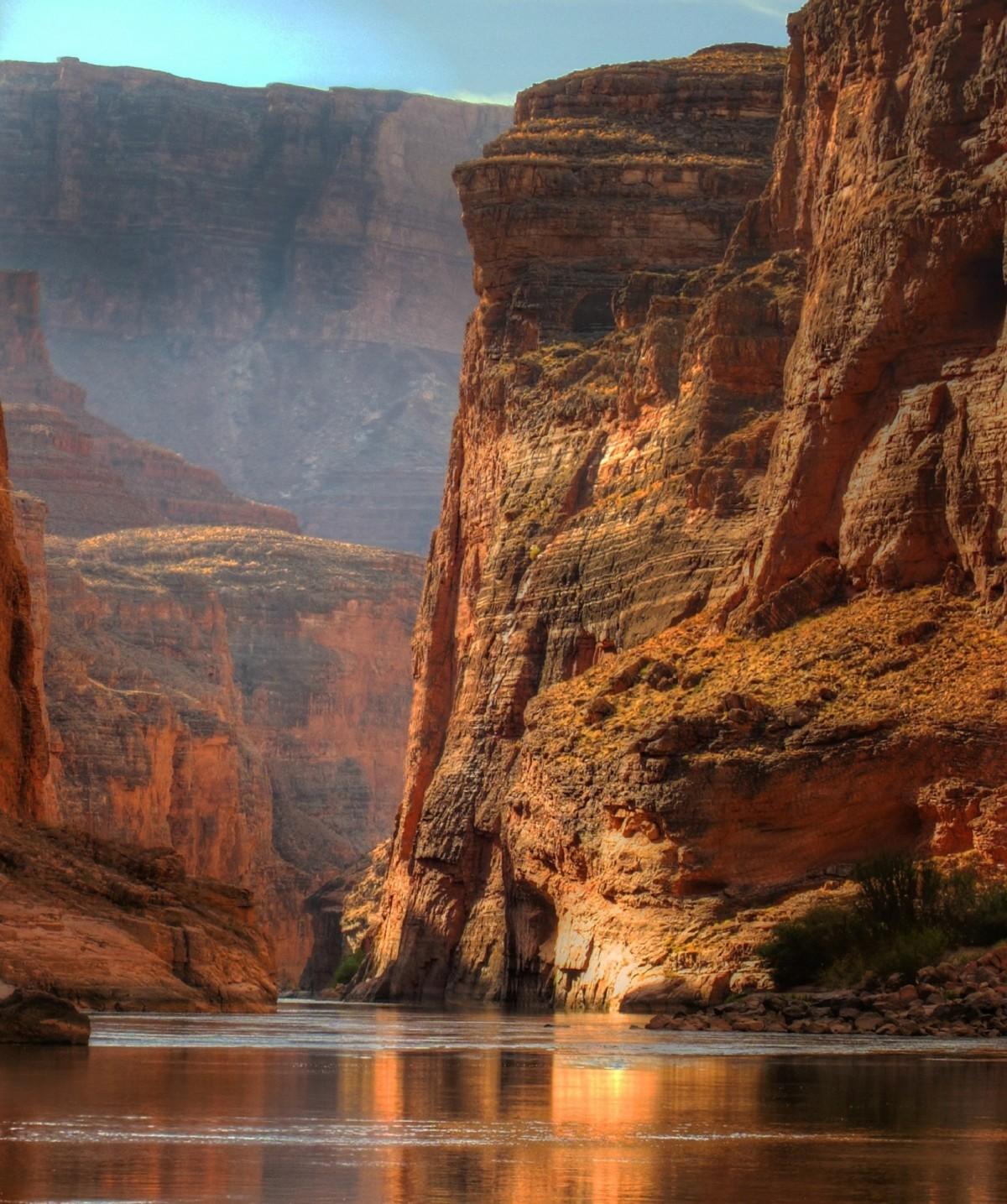 Эксклюзивные картинки каньонов, открытка для
