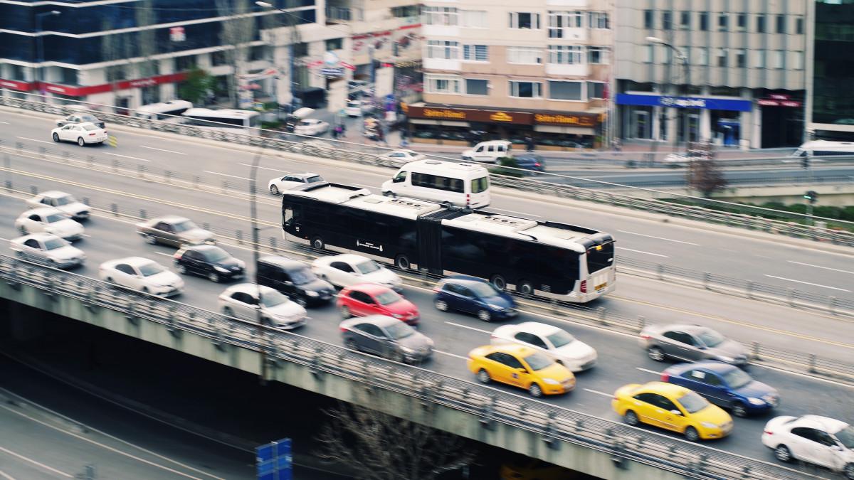 Pedestrian, Road, Traffic, Street, Car, Highway