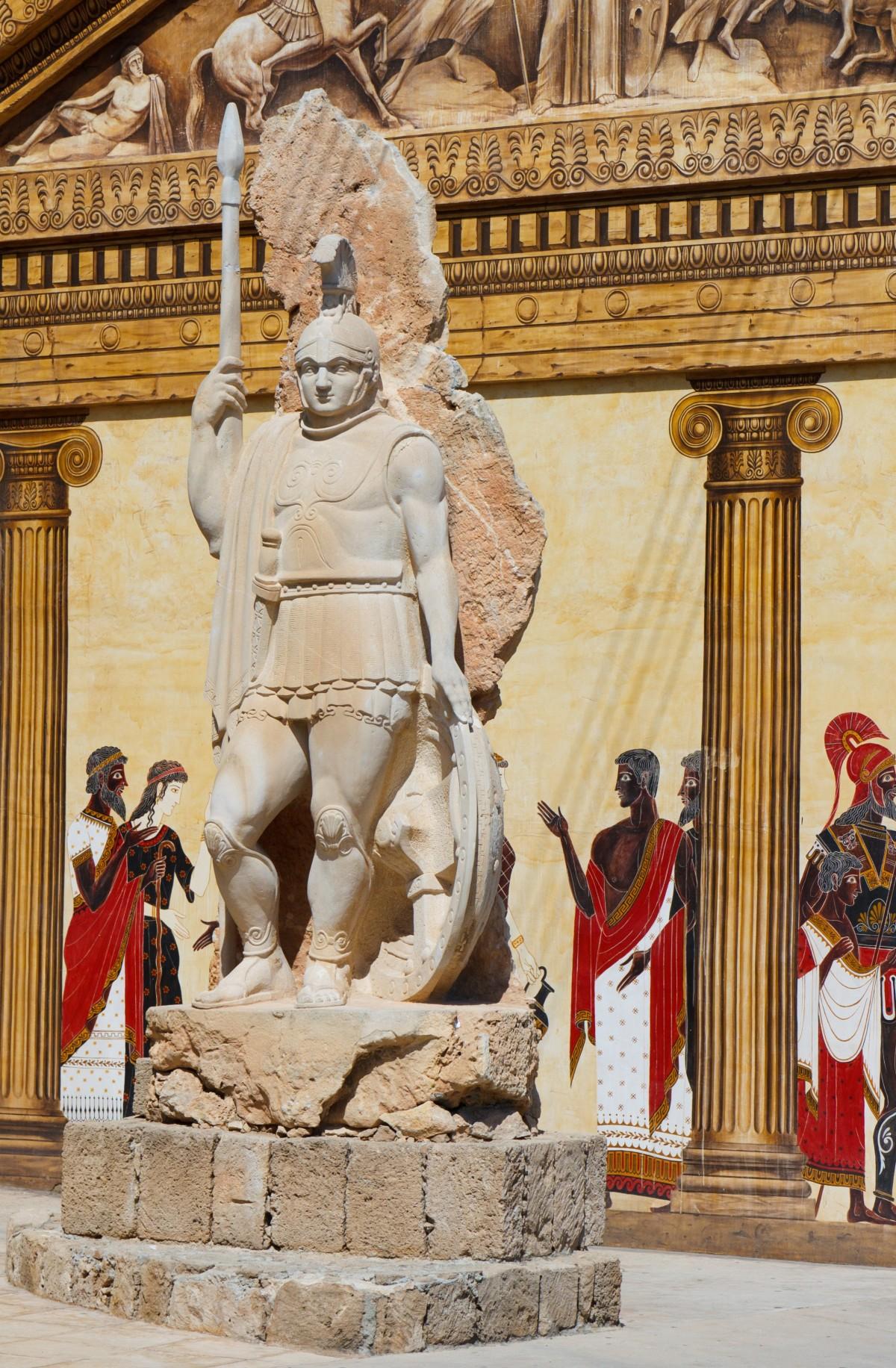 the pillars of the roman empire's