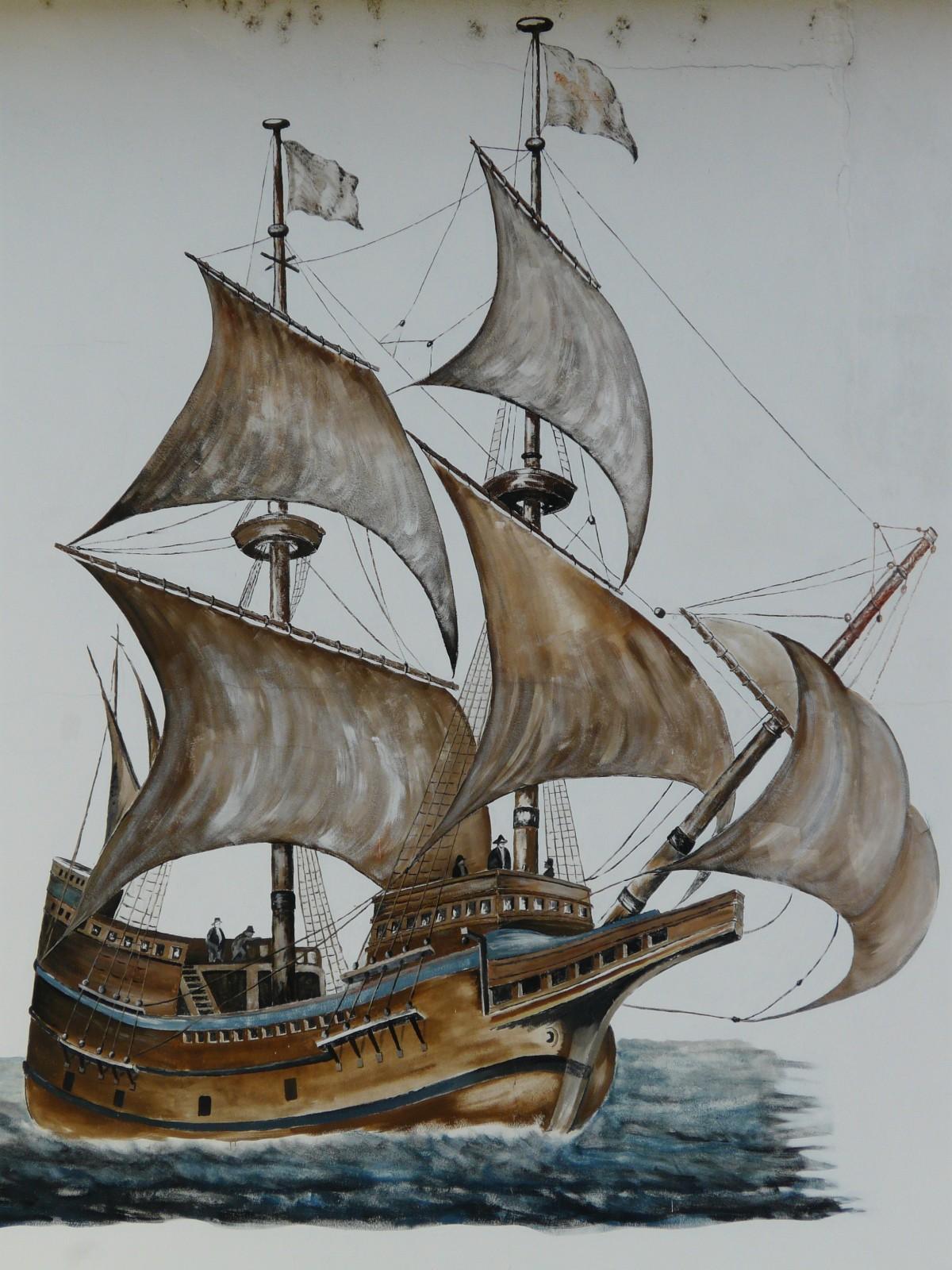 bildet   vann  skip  st u00f8vel  kj u00f8ret u00f8y  seilb u00e5t  skisse  tegning  illustrasjon  seile  bilde