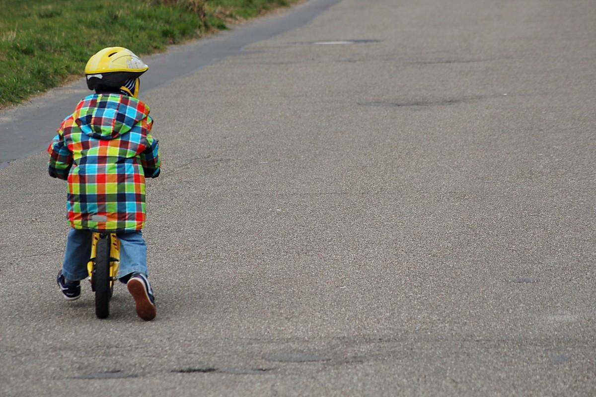 Картинка ребенок дорога