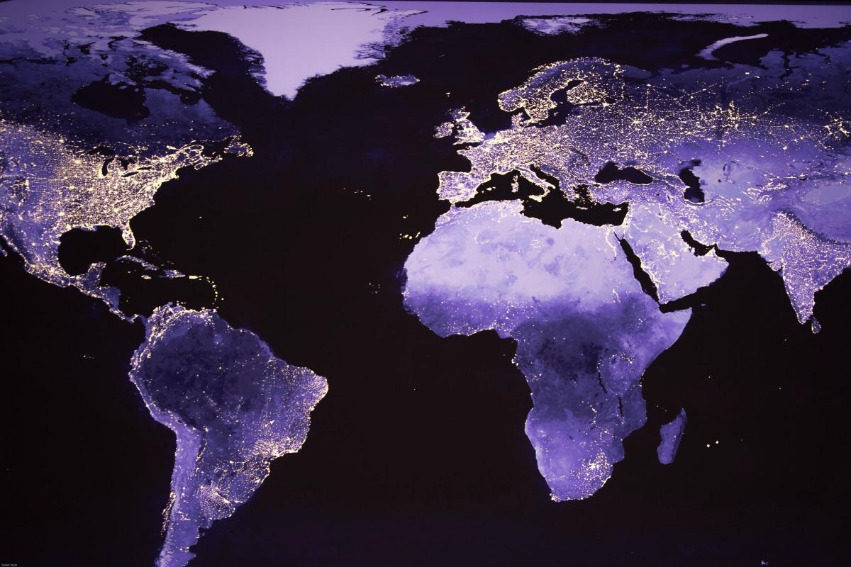 Obrazy Noc Europa ľad Odraz Afrika Amerika Svet Hmlovina