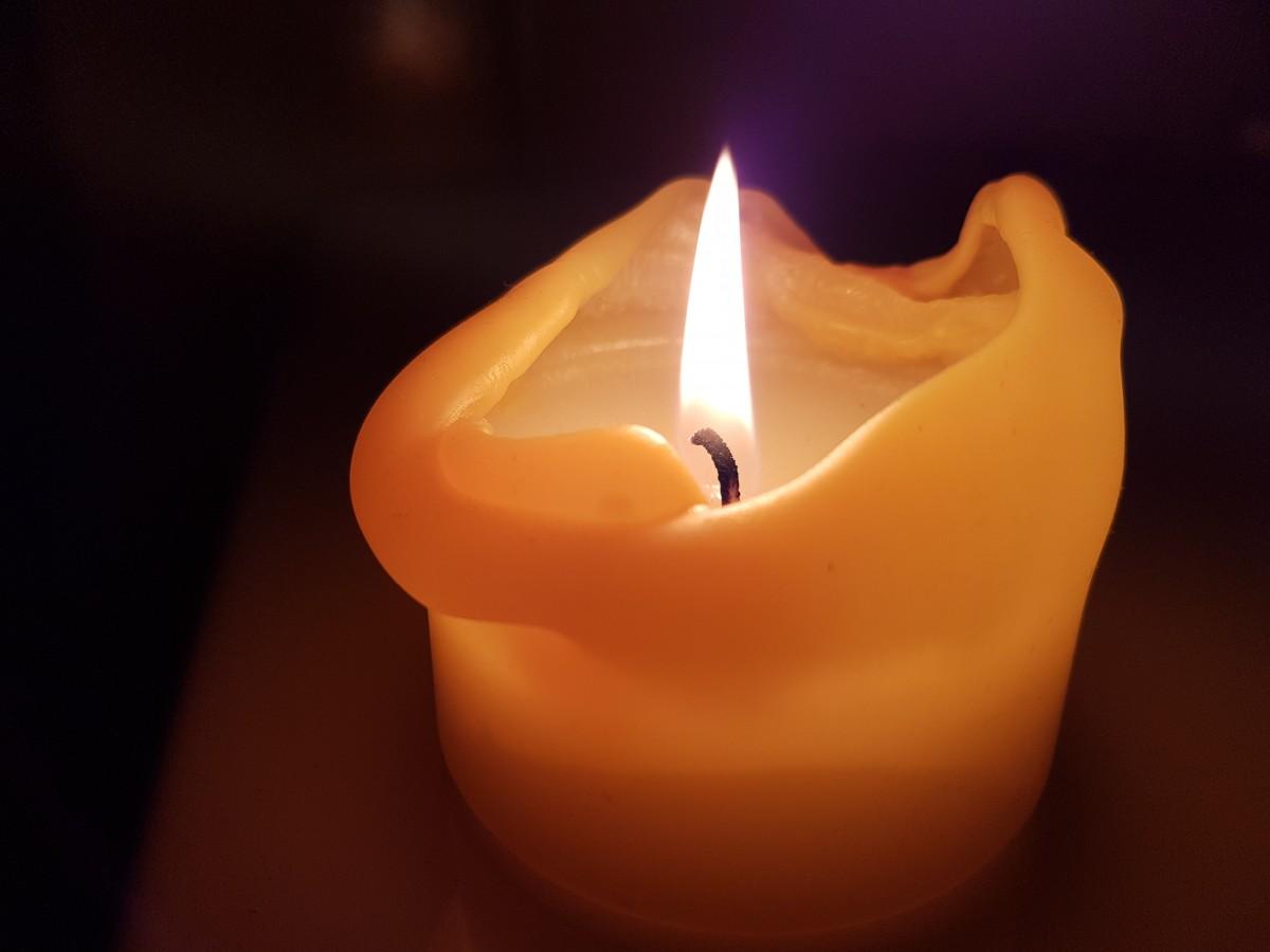 Фото зі свічкою