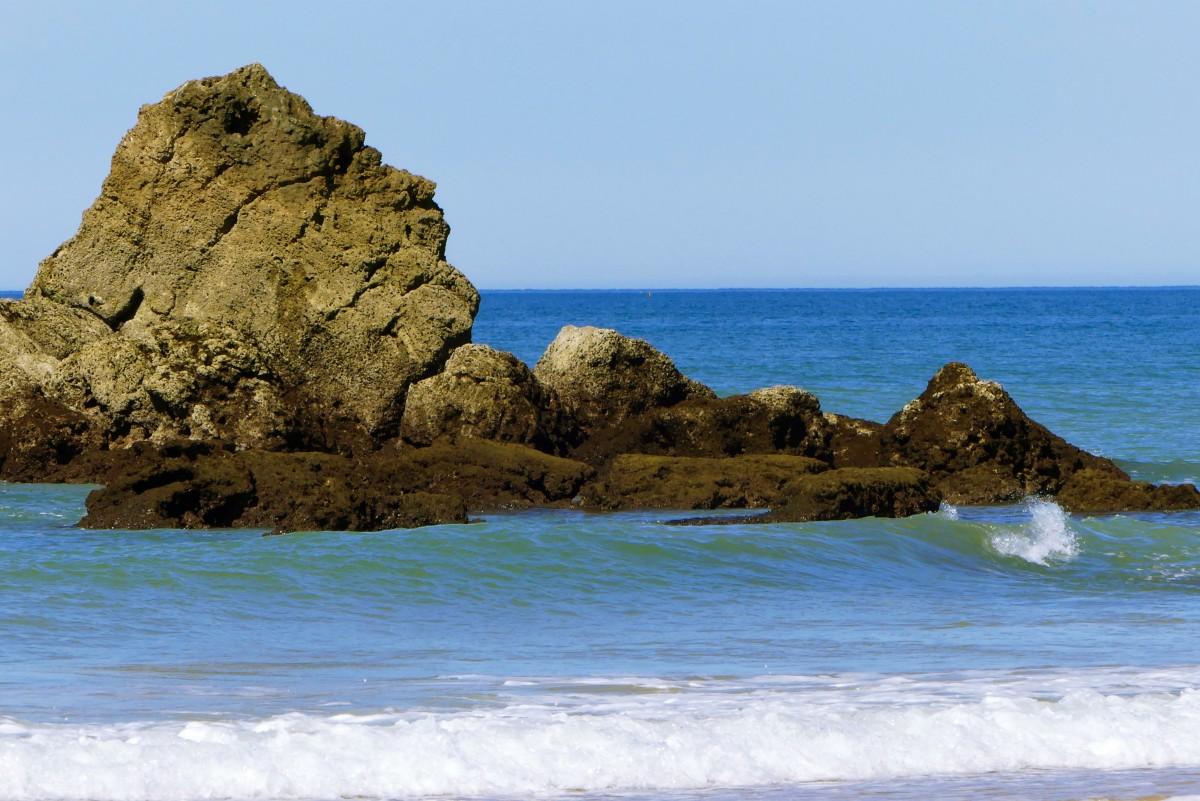 Fotos Gratis : Playa, Paisaje, Mar, Costa, Agua