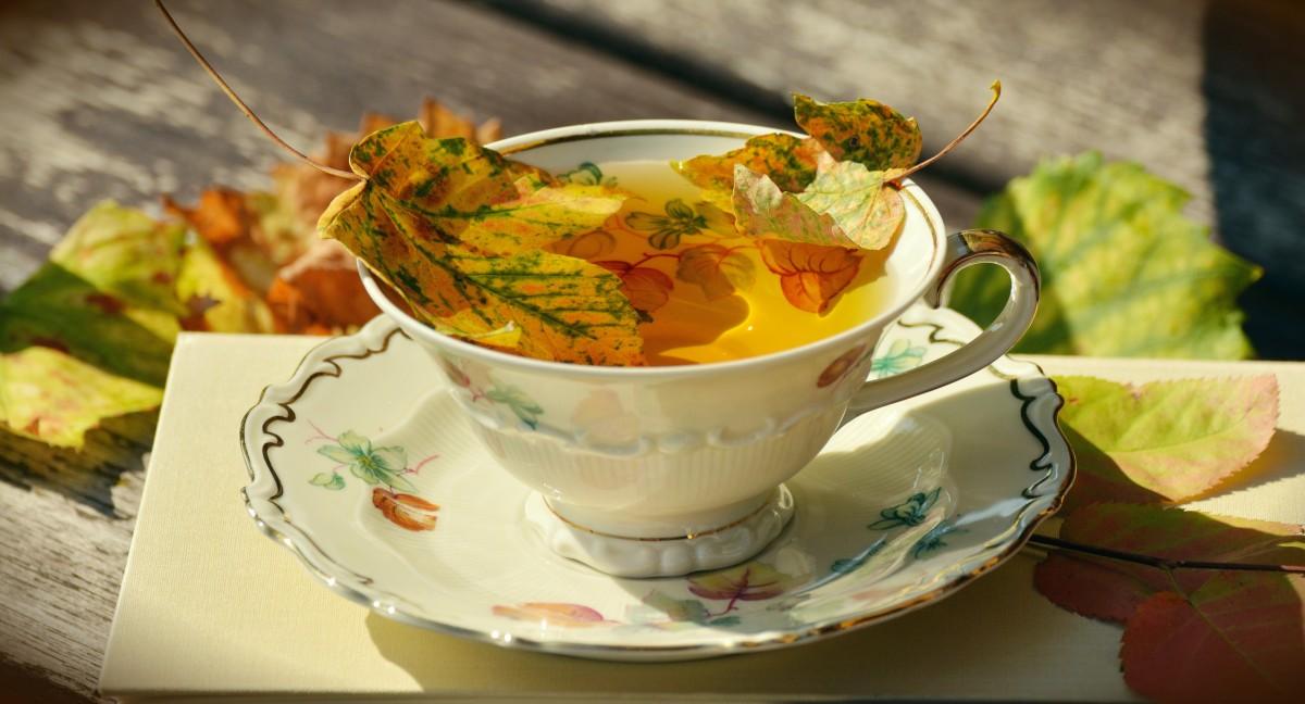 Осенняя чашка кофе картинки