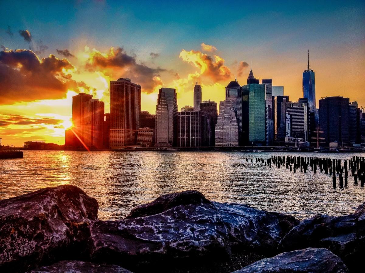 этого картинки города на закате дня чистое