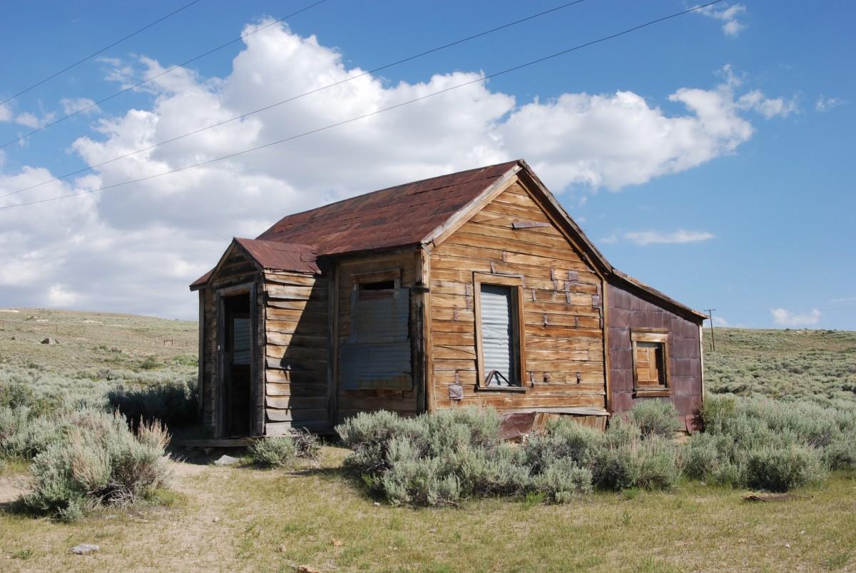 Farm Prairie House Building Old Barn