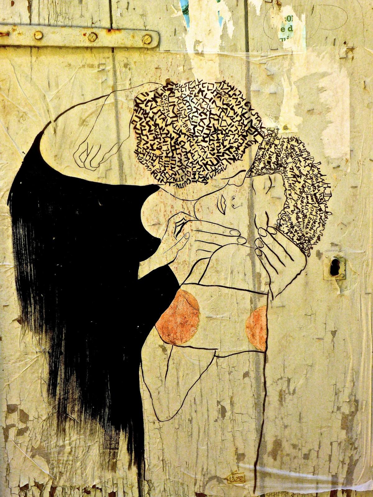 Banco de imagens parede amor decora o cor artista for Dessin mural peinture