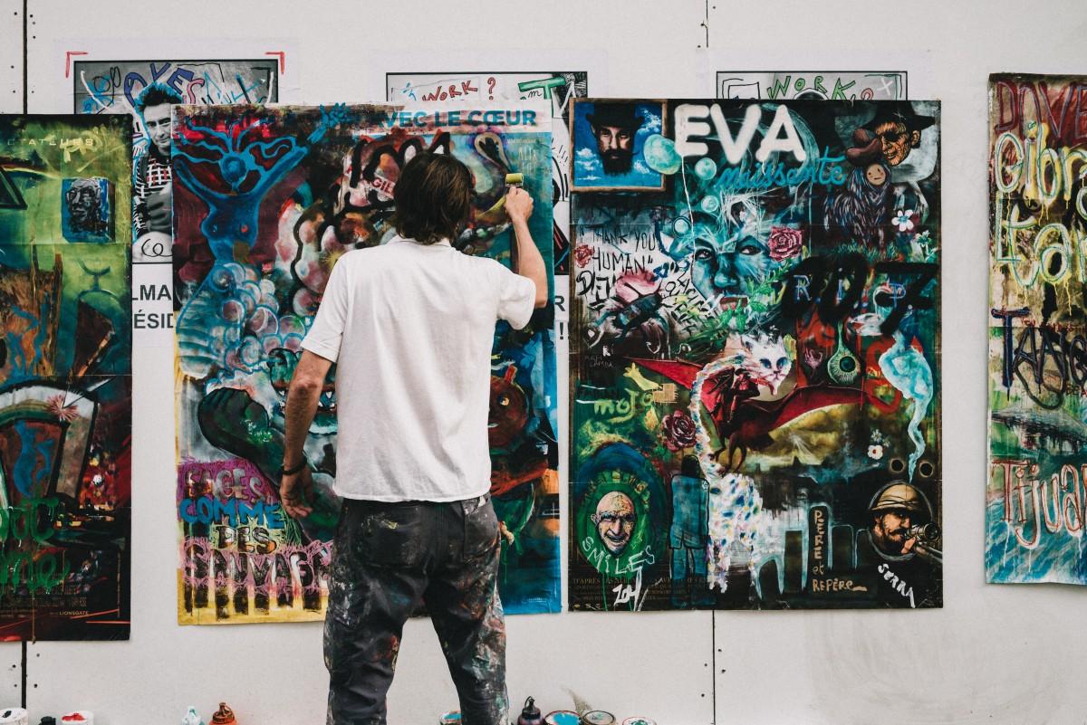 kostenlose foto graffiti malerei stra enkunst entwurf wandgem lde poster ausstellung. Black Bedroom Furniture Sets. Home Design Ideas