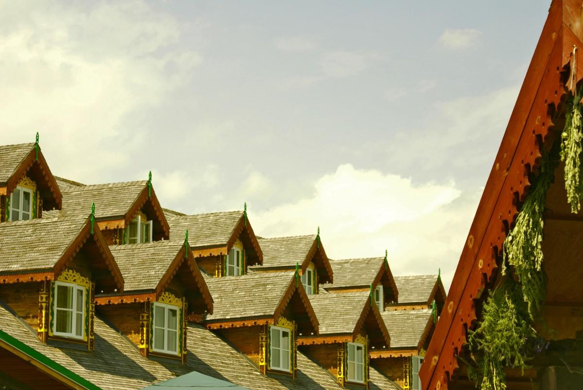Картинки домики крыши