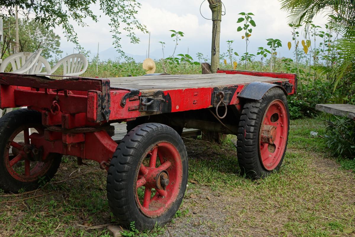 kostenlose foto baum gras pflanze auto traktor bauernhof rad wagen alt rot fahrzeug. Black Bedroom Furniture Sets. Home Design Ideas