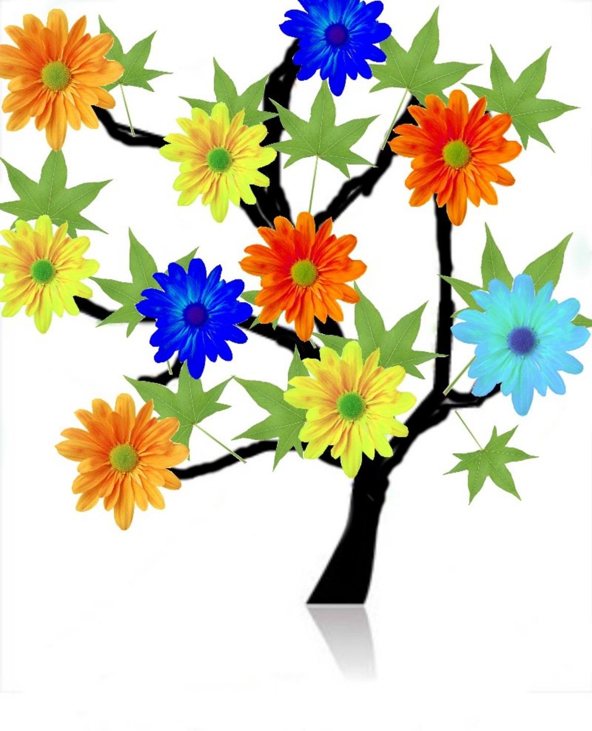 Banco de imagens rvore plantar flor p tala flores - Cortar hierba alta ...