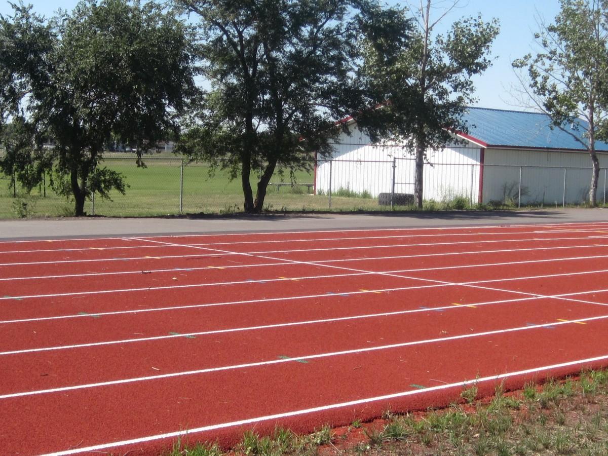 Images gratuites paysage structure piste voie stade terrain de baseball des sports - Tapis de course traduction ...