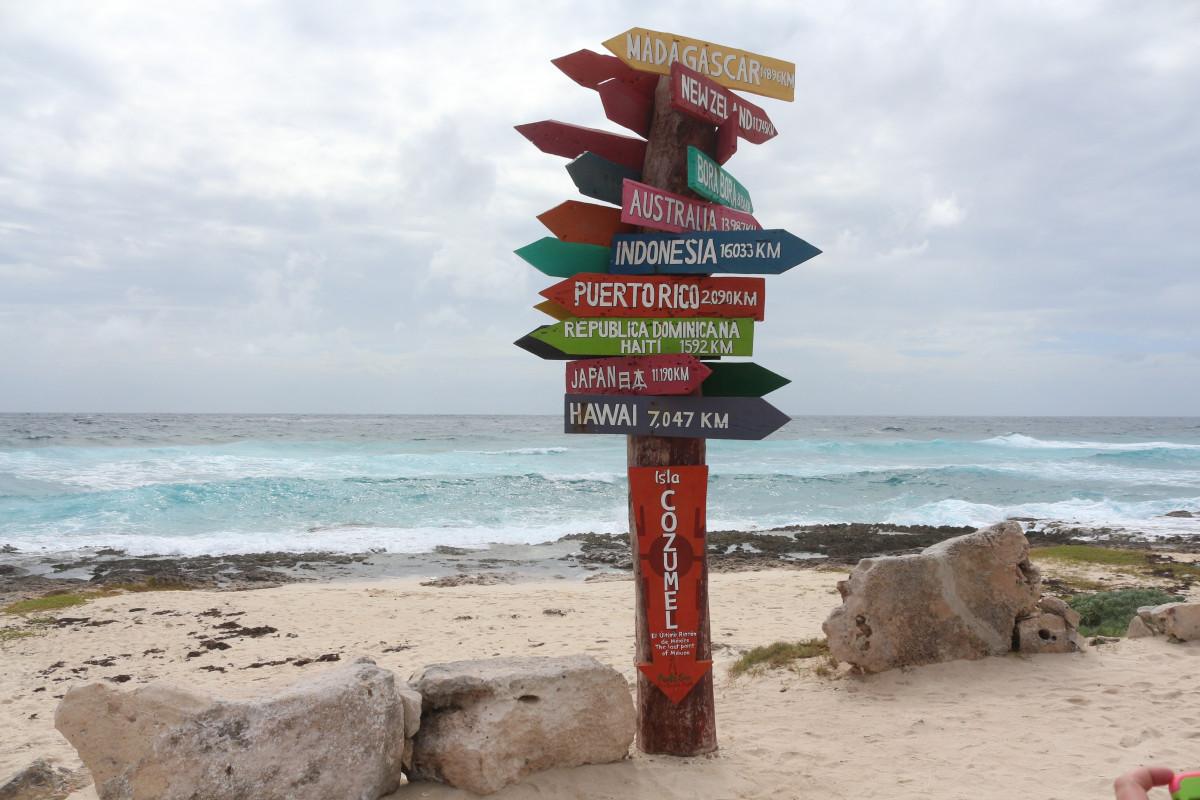 cozumel quintana roo caribe isla méxico
