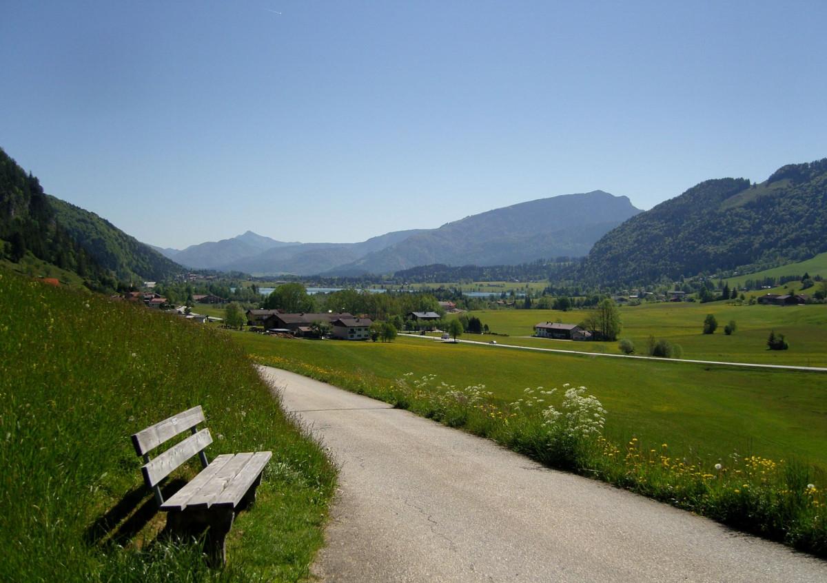 Gambar : pemandangan, jalan, Hiking, bidang, tanah ...
