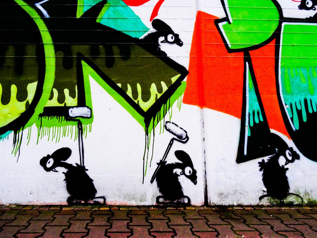 Free images road graffiti street art urban art for Art et decoration
