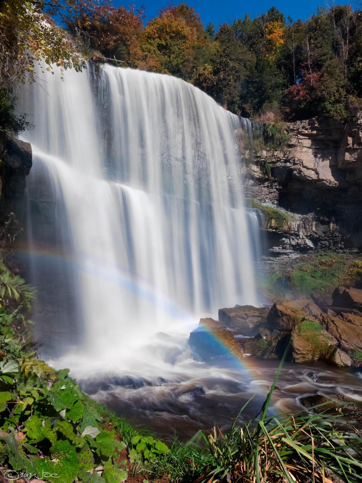 Открытки с водопадами каскадами, открытка