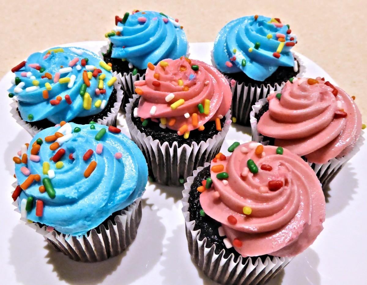 Cupcake Decorating Ideas Birthday