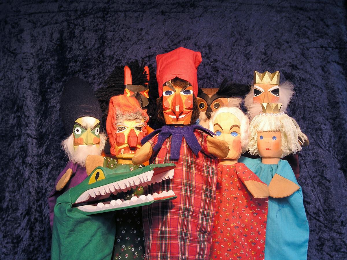 картинки о театре кукол