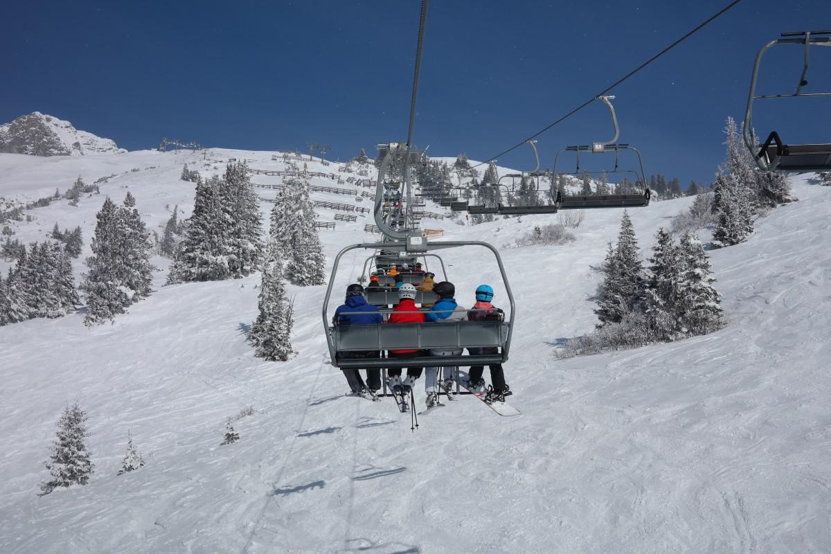 Snow, Winter, Mountain Range, Vehicle, Chairlift, Ski Lift