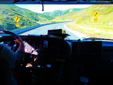 la carretera,autopista,conducción,transporte,transporte,camión