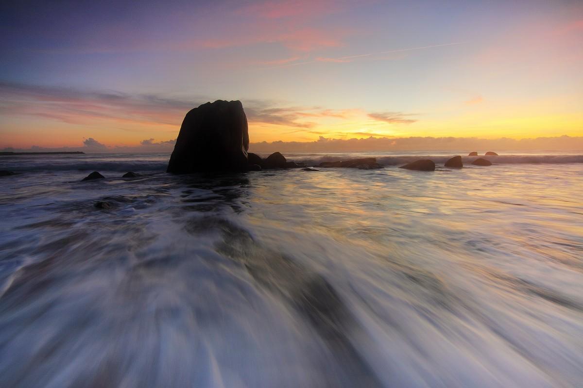 beach landscape sea coast sand ocean horizon cloud sun sunrise sunset sunlight morning shore wave dawn dusk evening reflection bay movement seascapes cape water motion wind wave