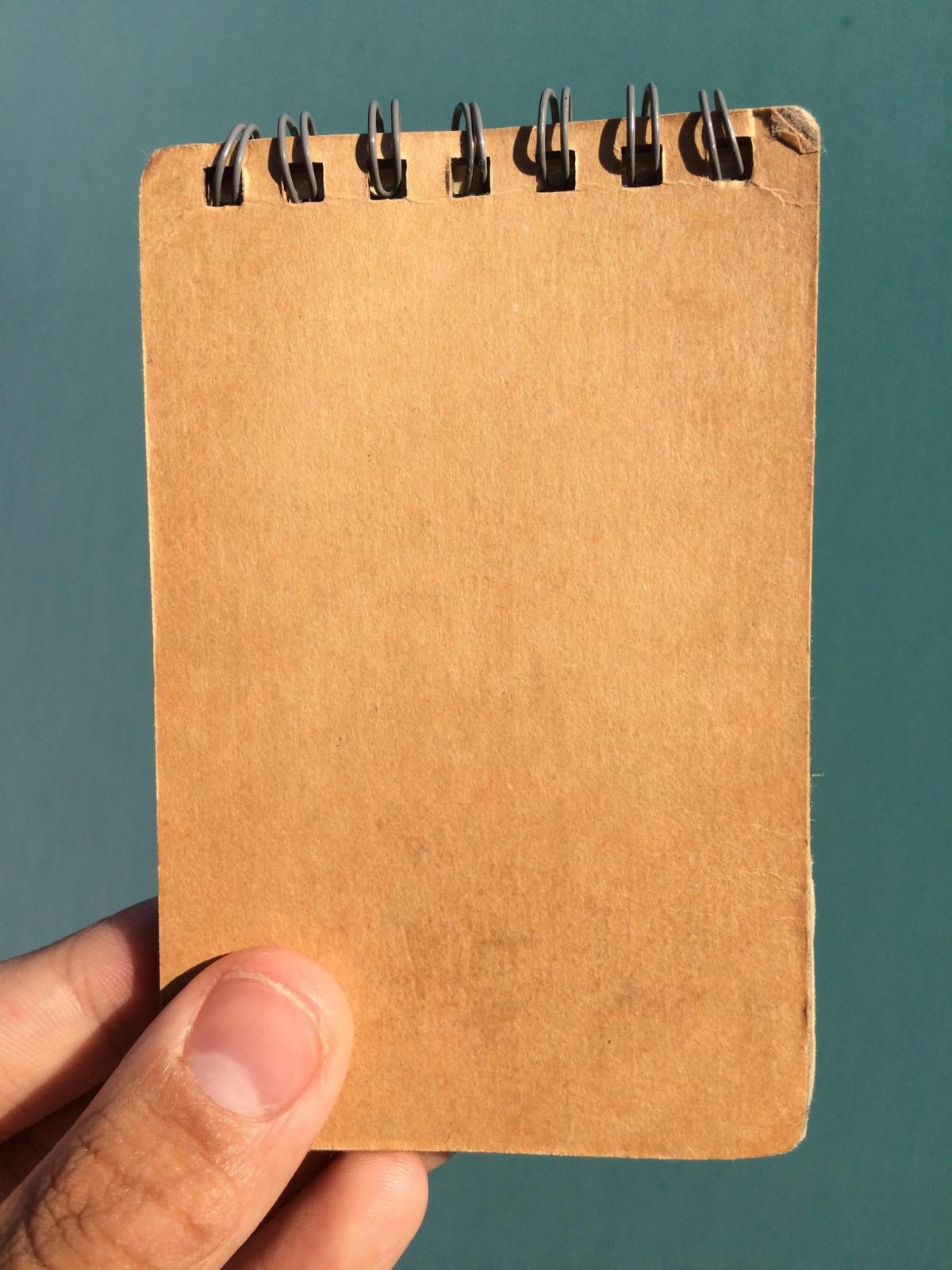 Сделать блокнот своими руками с дыроколом