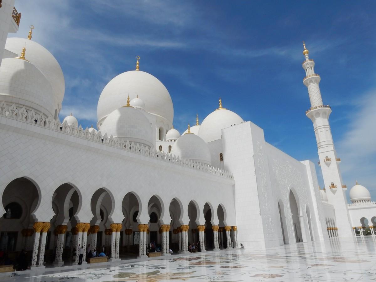 Bildet bygning gudshus steder av interesse emirates islam kuppel orient abu dhabi - Abu dhabi luoghi di interesse ...