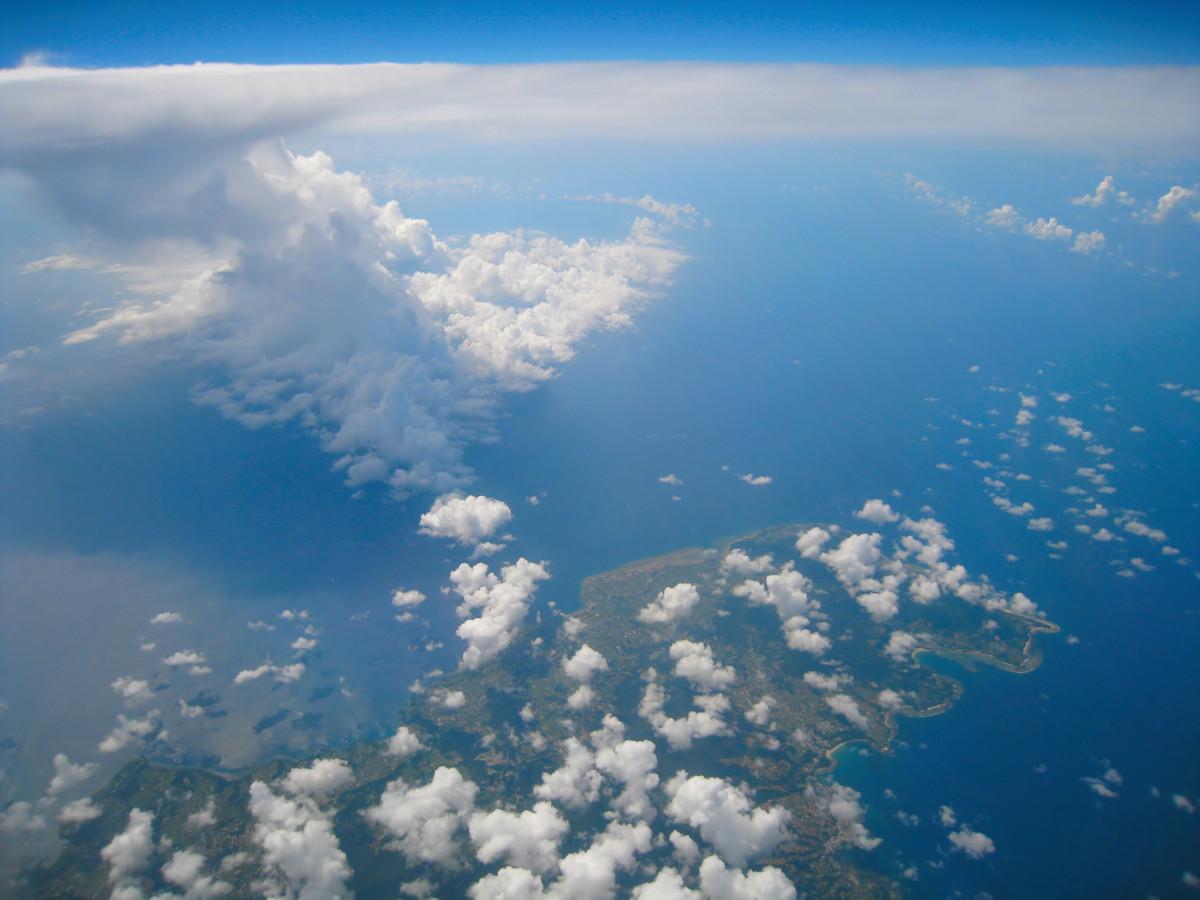 Free Images : sea, horizon, cloud, sky, white, sunlight ...