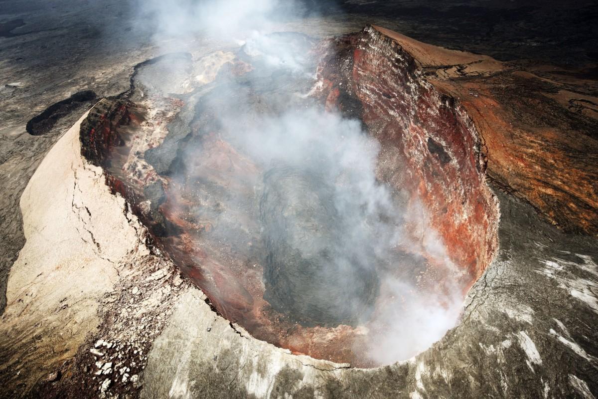 кратер вулкана картинки грибы имеют слегка