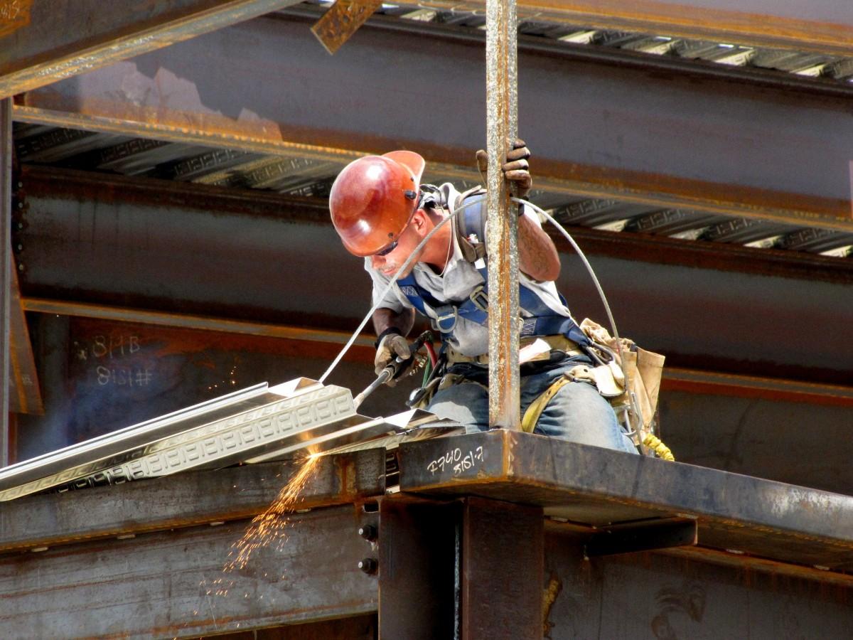Free Images Man Wood Roof Building Beam Steel Mast