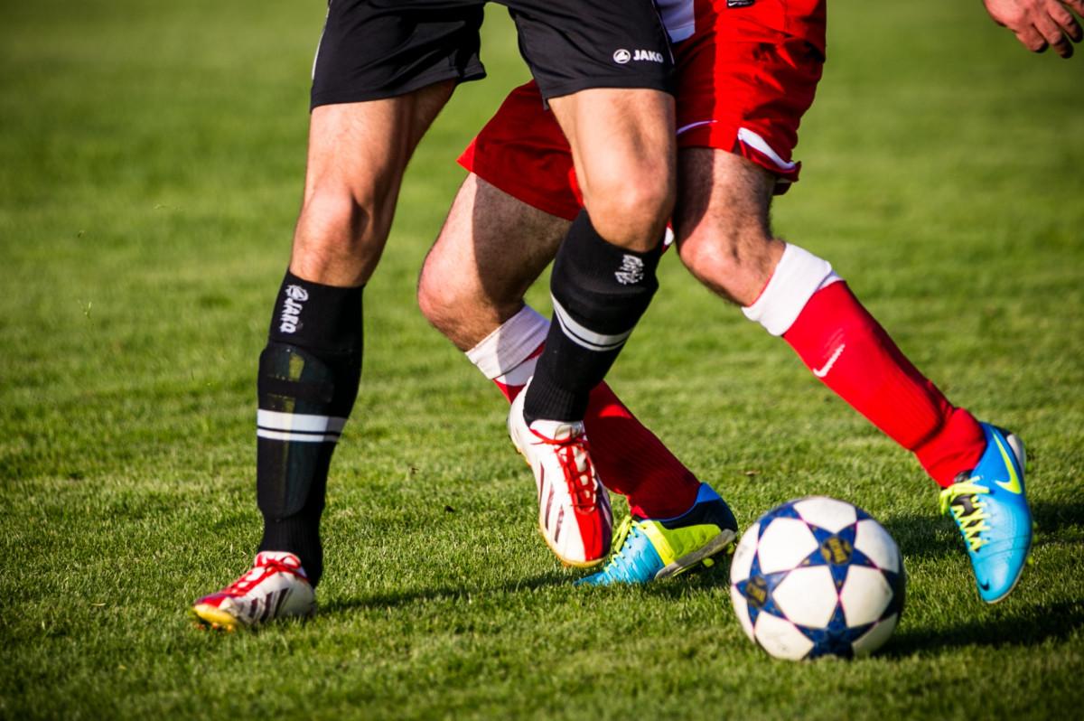 Ben och fotboll