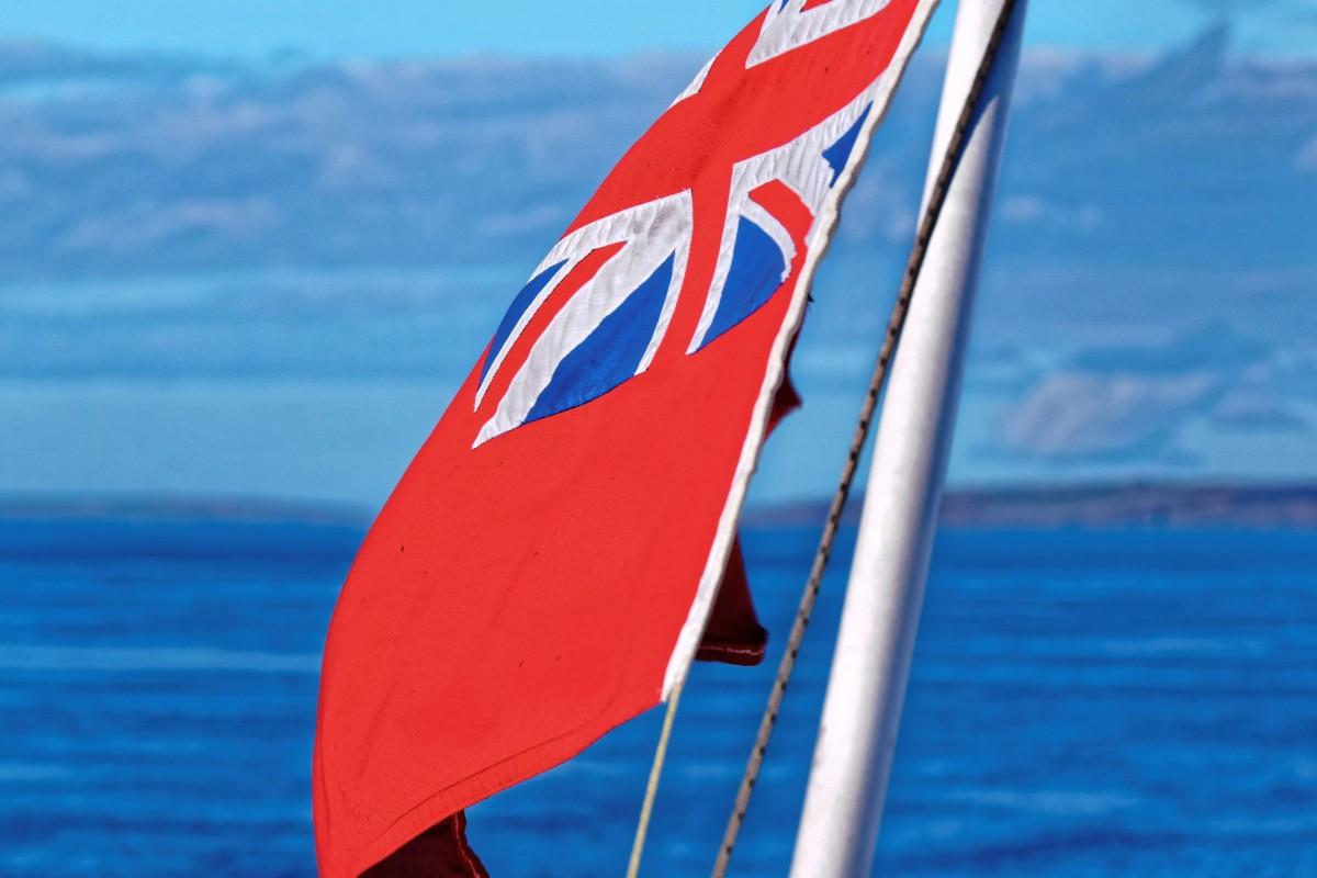 офшорный флаг для судна обыкновенное нижнее белье