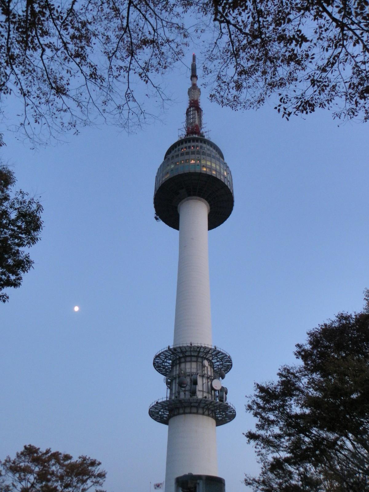 Free Images Landmark Water Tower Steeple Seoul