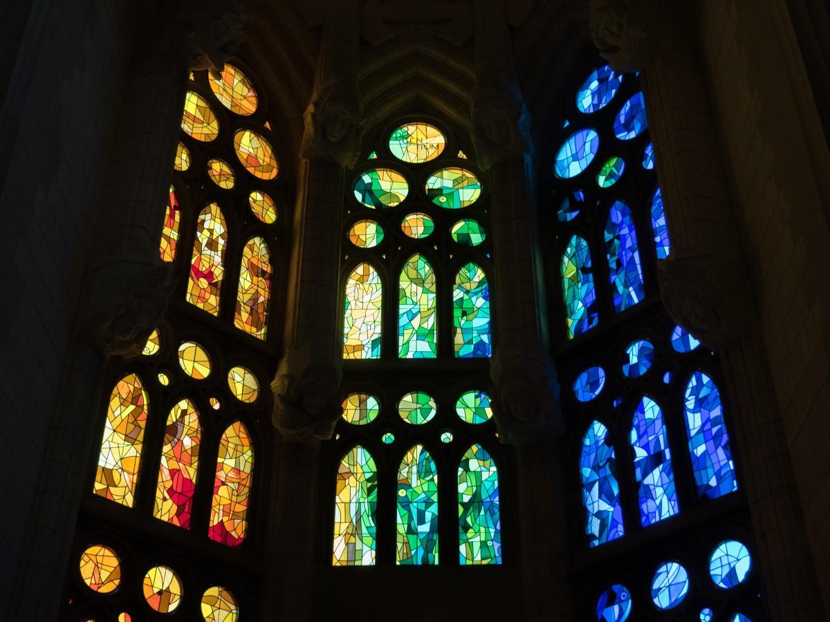 Fönster blyinfattade fönster : Bakgrundsbilder : ljus, svartvitt, glas, bÃ¥ge, linje, konstnärlig ...