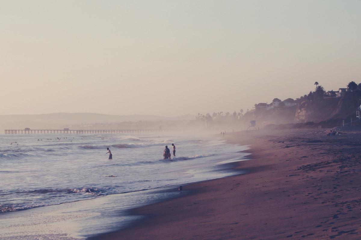 Free Images  Man, Beach, Sea, Coast, Sand, Ocean, Walking -7222