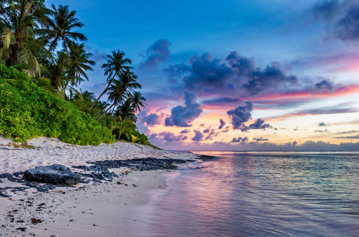 Tropical Paradise Beach Coast Sea Blue Emerald Ocean Palm: Free Images : Landscape, Sea, Coast, Tree, Nature, Rock