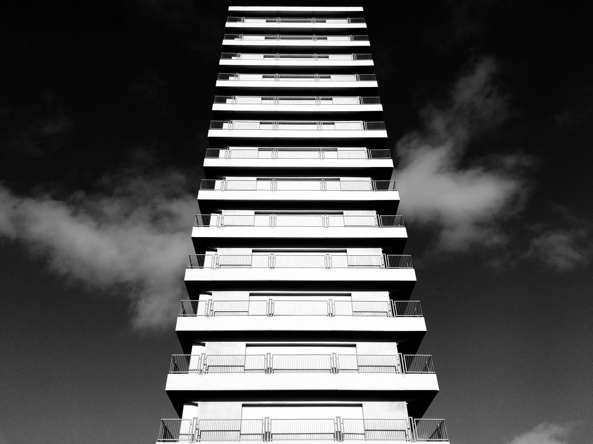Fotos gratis en blanco y negro arquitectura cielo for Arquitectura en linea gratis