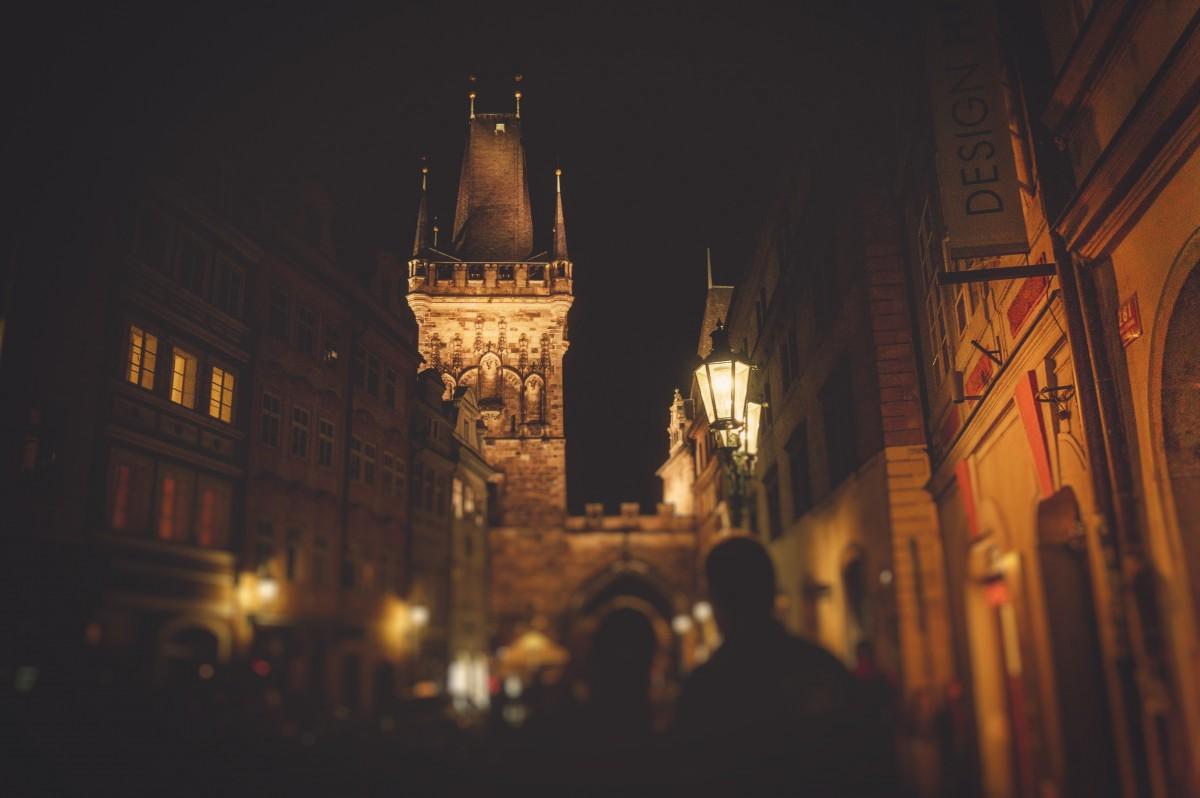 Images Gratuites Silhouette Lumiere Gens Rue Nuit Ville