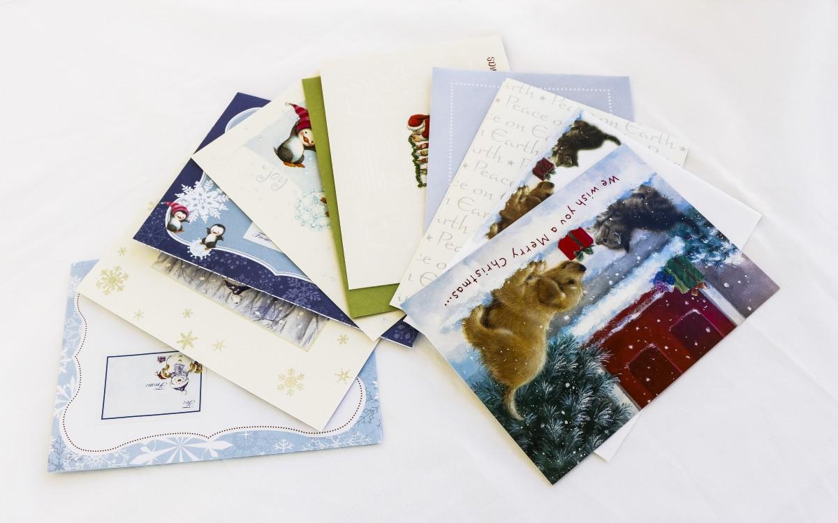 Про, можно отправить открытку без конверта