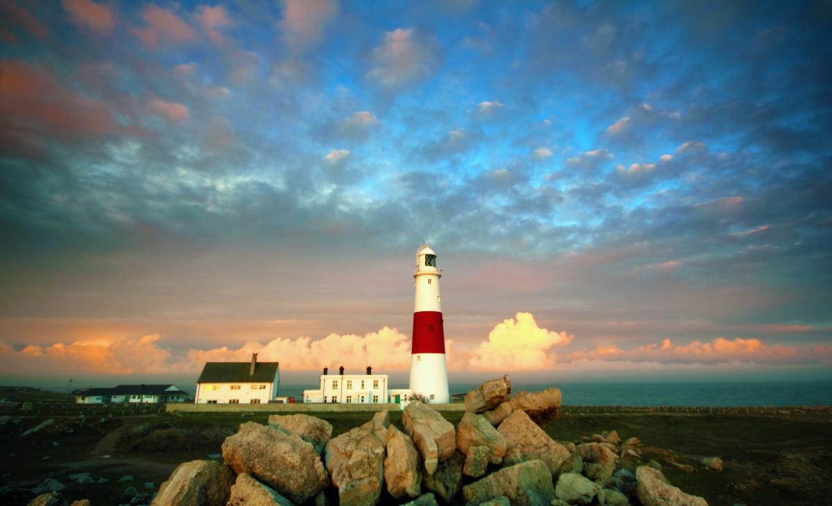 Lighthouse Portland Weymouth Light Ocean Maine Sea Landmark