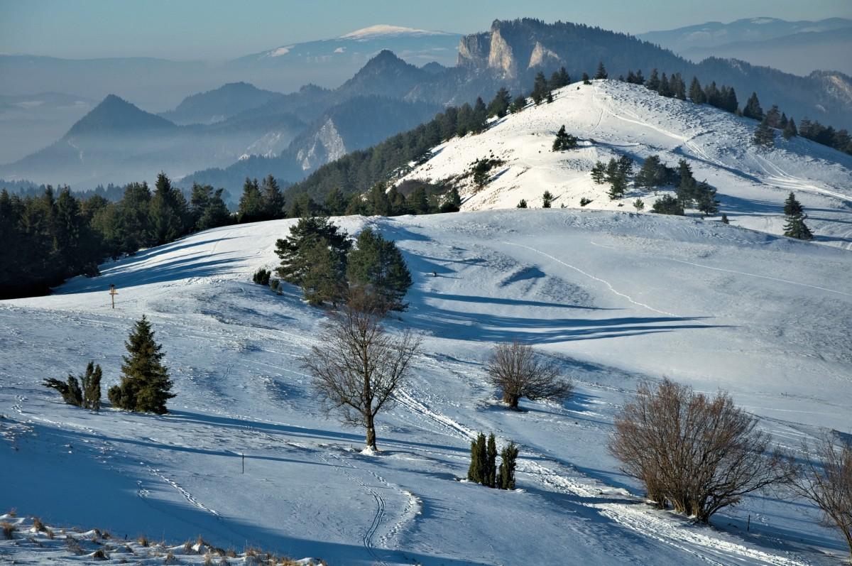 images gratuites paysage la nature montagne neige hiver piste vue cha ne de montagnes. Black Bedroom Furniture Sets. Home Design Ideas