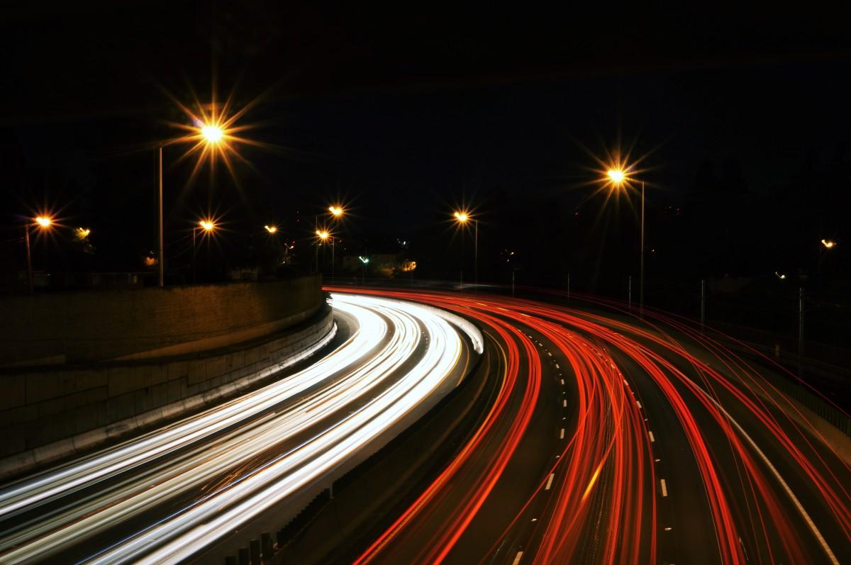 Free Images Light Blur Skyline Traffic Street Night