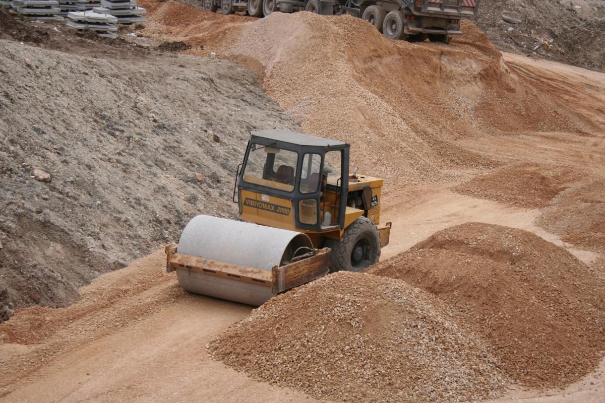 песок строительство