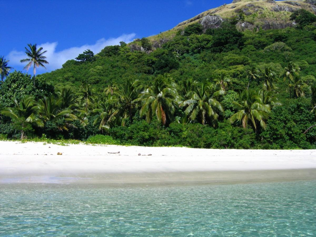 New Island In Fiji