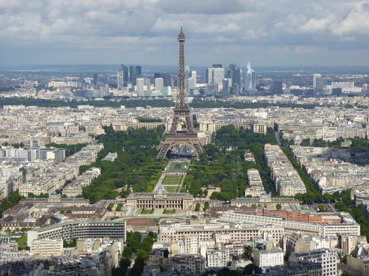 Images gratuites horizon ville tour eiffel paris for Paris paysage